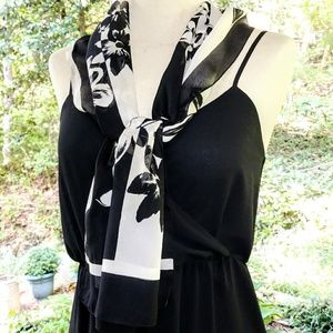 Accessories - FLORAL Pretty Sheer Scarf #hundredsofscarves